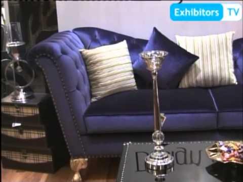 Design & Depth's Eye-Catching Furniture and Interior Designing (Exhibitors TV @ Furniture Show 2013)