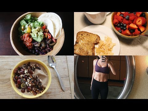 WHAT I ATE TODAY AS A VEGAN BALLET DANCER #35