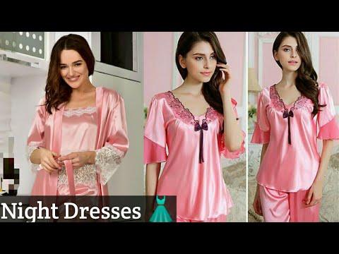 Night Dress Collection | Beautiful nighty dresses 2019 . http://bit.ly/2GPkyb3