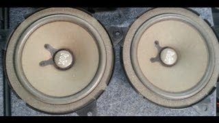 BMW M3 330ci 325ci  Rear Deck Speakers Head Rest Removal