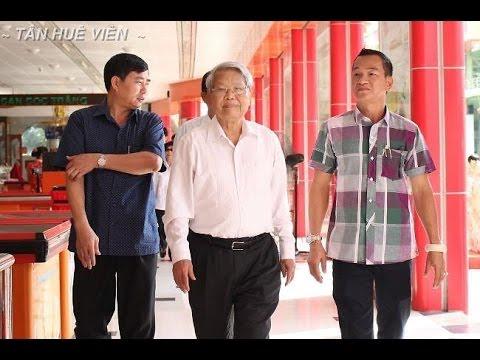 Tân Huê Viên – Nguyên chủ tịch nước Trần Đức Lương đến thăm