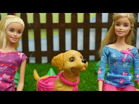 Spielspaß mit Barbie - Wir gehen Gassi