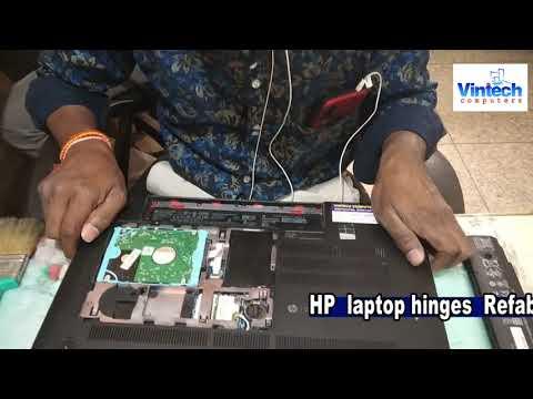 How to repair broken HP Laptop Hinges Refabrication