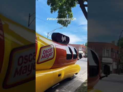 If you know you know you love the WienermobileLyft