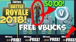 Fortnite Battle Royale FREE VBUCKS! How to get FREE VBUCKS working 2018! (Fortnite Free Vbucks)