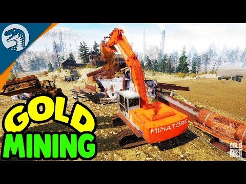 $1,000,000,000,000 GOLD MINE START UP | Gold Rush: The Game Gameplay