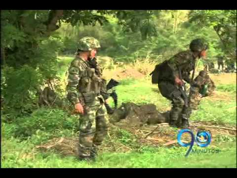 Octubre 11 de 2011. Levantamiento de soldados asesinados en Caloto, Cauca
