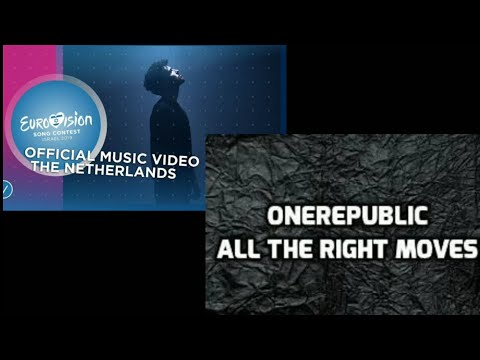 Eurovision Duncan Laurence (Arcade) Vs. OneRepublic (All The Right Moves)
