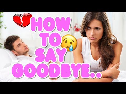 How to leave a guy you love alone