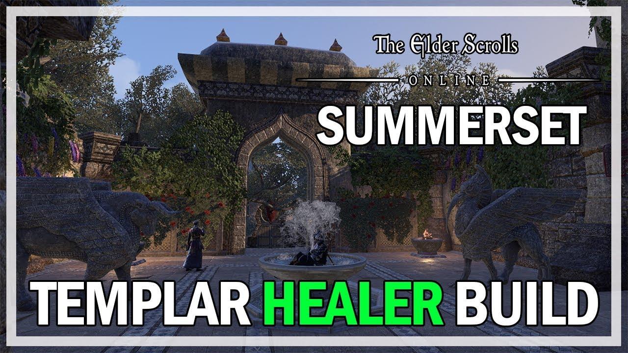 Templar Healer Build Guide Summerset Expansion - The Elder Scrolls Online