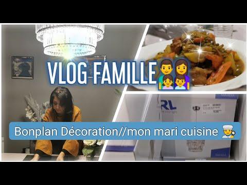 vlog-famille👨👩👧👦:-bonplan-dÉcoration-//-👨🍳mon-mari-cuisine-//