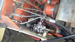 Home made turbo diesel pulling garden tractor