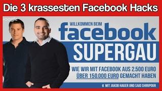 Mit Facebook Geld verdienen - Facebook Meisterkurs von Said Shiripour und Jakob Hager