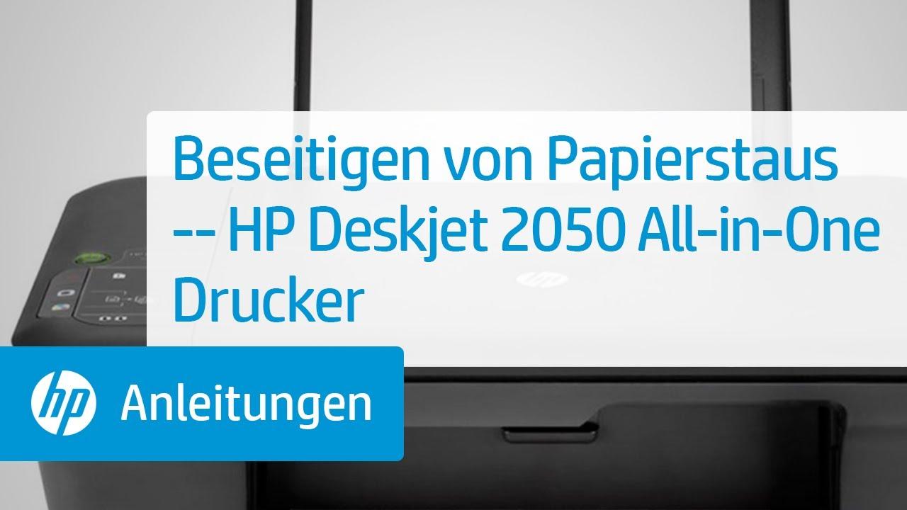 beseitigen von papierstaus hp deskjet 2050 all in one. Black Bedroom Furniture Sets. Home Design Ideas