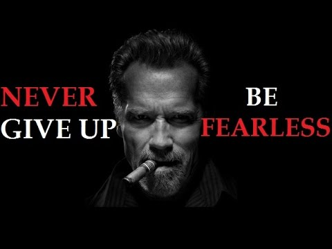 Never Give Up On Your Dreams – Arnold Schwarzenegger Motivational Video For Students