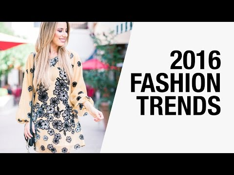 2016 Fashion Trends – Pantone Colors, Androgyny, Romanticism, 70's | FashionBorn x Chictopia