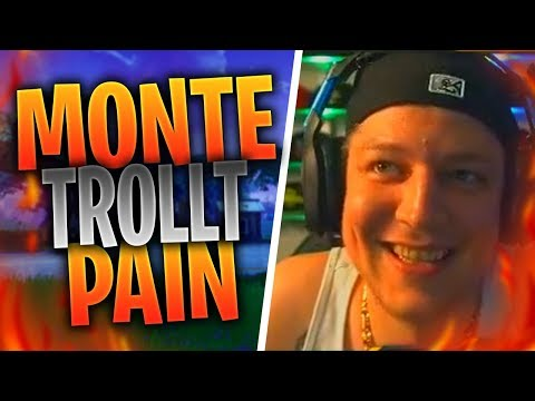 MONTANABLACK TROLLT PAIN | PORT a FORT GLITCH | Fortnite Highlights Deutsch