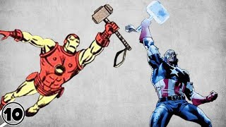 Top 10 Superheroes Who Can Lift Thor's Hammer – Part 2