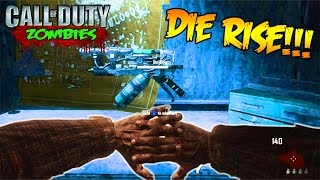 DIE RISE IN 2017 LOL - CALL OF DUTY BLACK OPS 2 ZOMBIES GAMEPLAY! (BO2 Zombies)