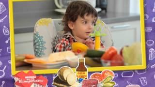 Как приготовить для ребенка гамбургер и чипсы из сельдерея? - Доктор Комаровский