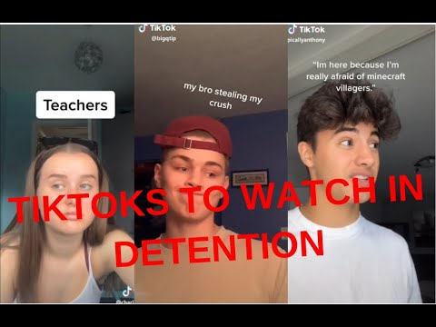 TIKTOKS TO WATCH IN DETENTION | TIKTOK COMPILATION
