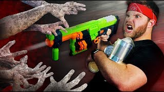 NERF Zombie Apocalypse Survival Challenge!