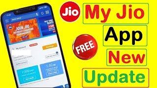 My Jio App New Update | New Free Service Via My Jio App | My Jio App New Update