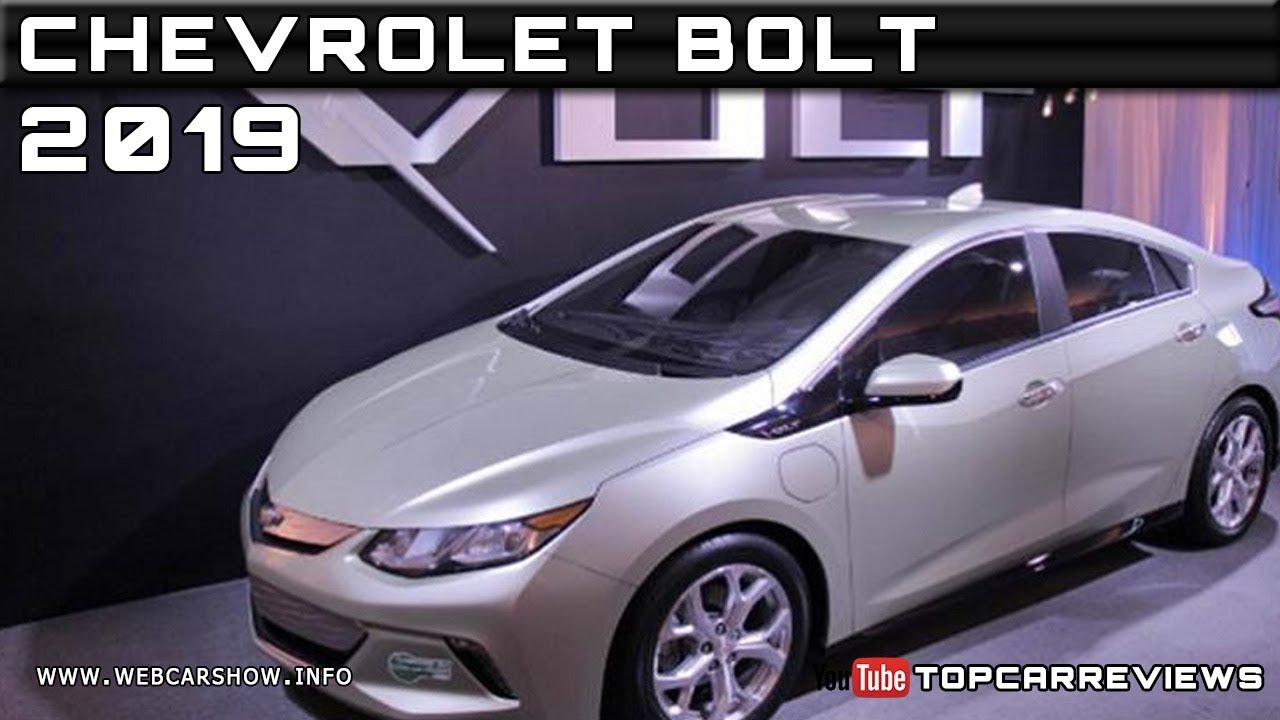 2019 Chevrolet Bolt Review Rendered Price Specs Release Date Youtube