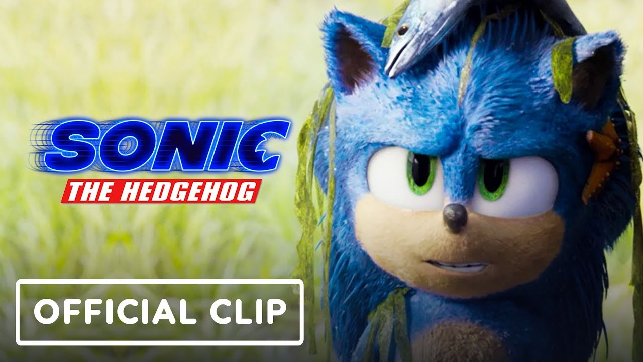 Sonic the Hedgehog - Official Movie Clip 2 (James Marsden, Ben Schwartz)