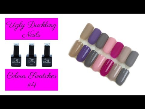 Ugly Duckling Nails Colour Swatches #4