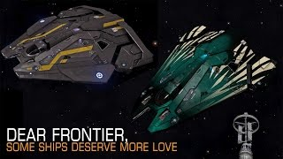 Elite: Dangerous. Dear Frontier, some ships deserve more love
