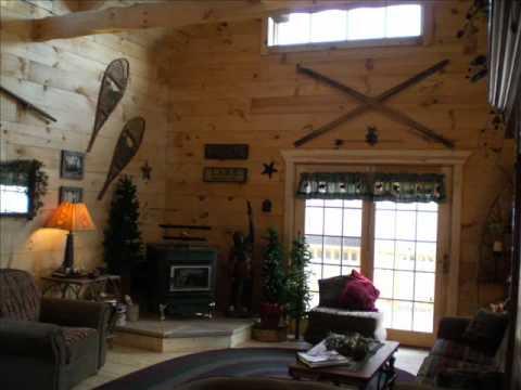 Modular Log Cabin From Wisconsin