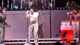 INEDIT MICHAEL JACKSON - DANCING MACHINE WITH GLOVE IN TRIUMPH TOUR