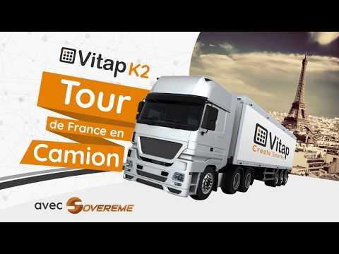 Vitap Point K2 Top - Tour de France en camion