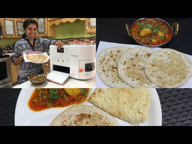 My Diwali Gift Rotimatic - A Roti Making Robot   Bhavnas Kitchen