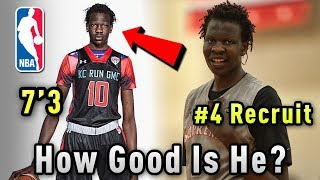 How GOOD Is Bol Bol ACTUALLY? Overrated Or Future NBA STAR?