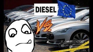 электро автомобили против дизельных в германии или начало конца.