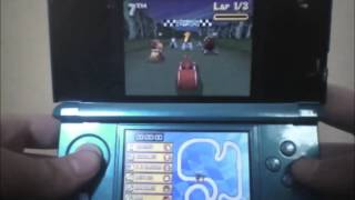 Let ' s Play da: I. M. Weasel: Cartoon Network Racing für den DS: Gameplay und Kommentar