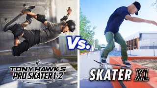 Real Skaters Compare Tony Hawk's Pro Skater and Skater XL