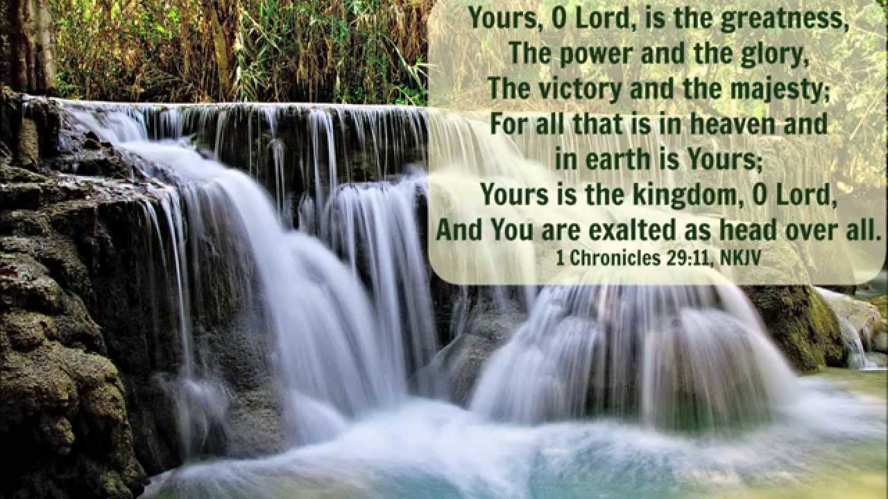 Image result for 1 chronicles 29:11