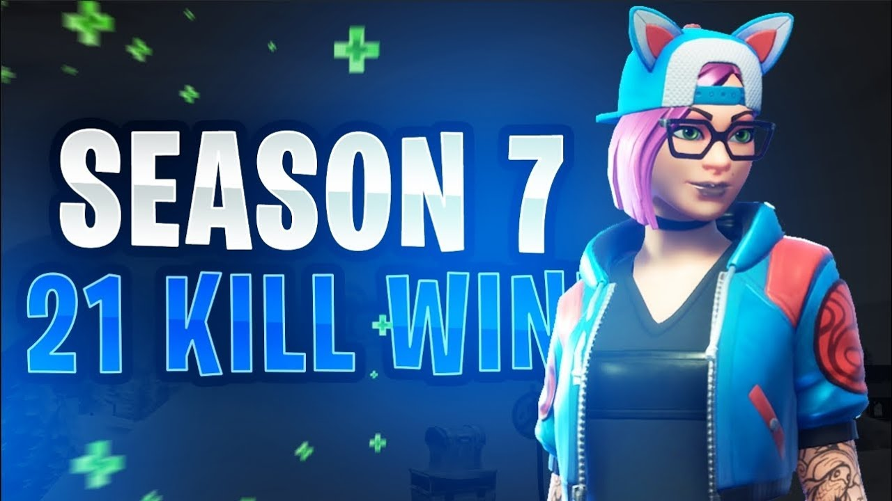 Season 7 21 Kill Win Solo Vs Duos Fortnite Battle Royale