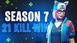 Season 7: 21 Kill Win! (Solo VS Duos) - Fortnite Battle Royale Update