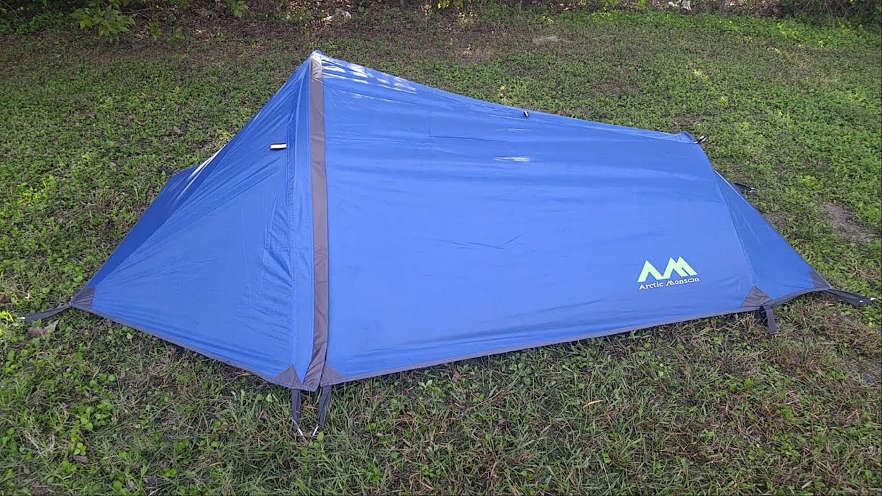 Arctic Monsoon 1 Person Bivy Tent & Arctic Monsoon 1 Person Bivy Tent - YouTube
