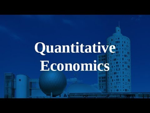 Info Session for MA programme in Quantitative Economics