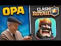 MEIN OPA SPIELT CLASH ROYALE? | Mega STARKES DECK! | Clash Royale deutsch