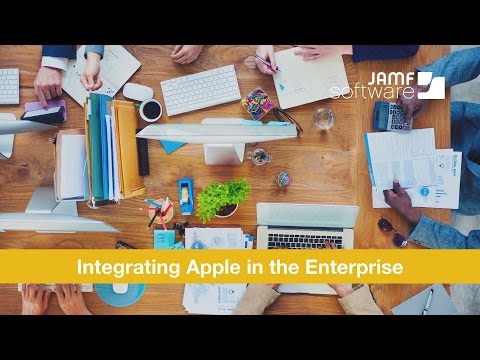 Integrating Apple in the Enterprise Webinar