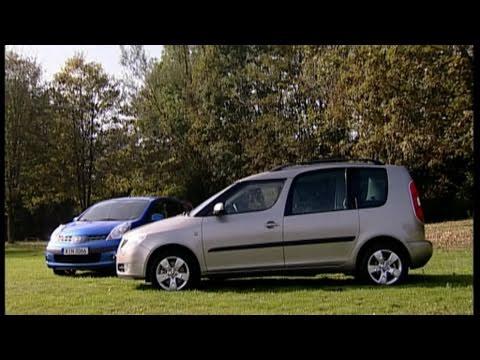 Nissan Note Vs Skoda Roomster Vergleich Test Youtube