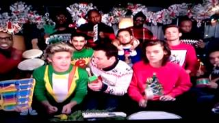One Direction singing Christmas Songs with Jimmy F
