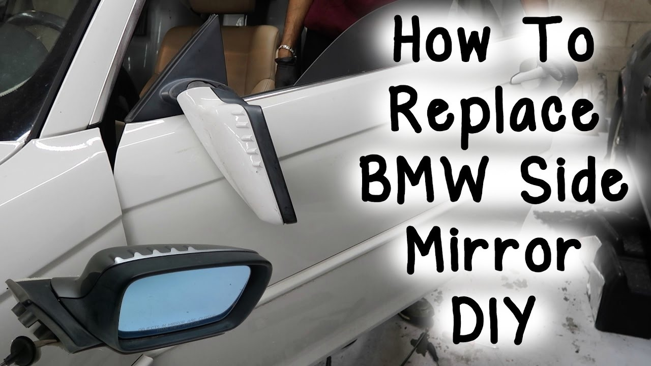How To Replace BMW Side Mirror DIY  YouTube