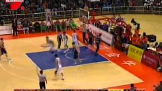 CBA 12/18/11: Josh Boone puback dunk vs Foshan